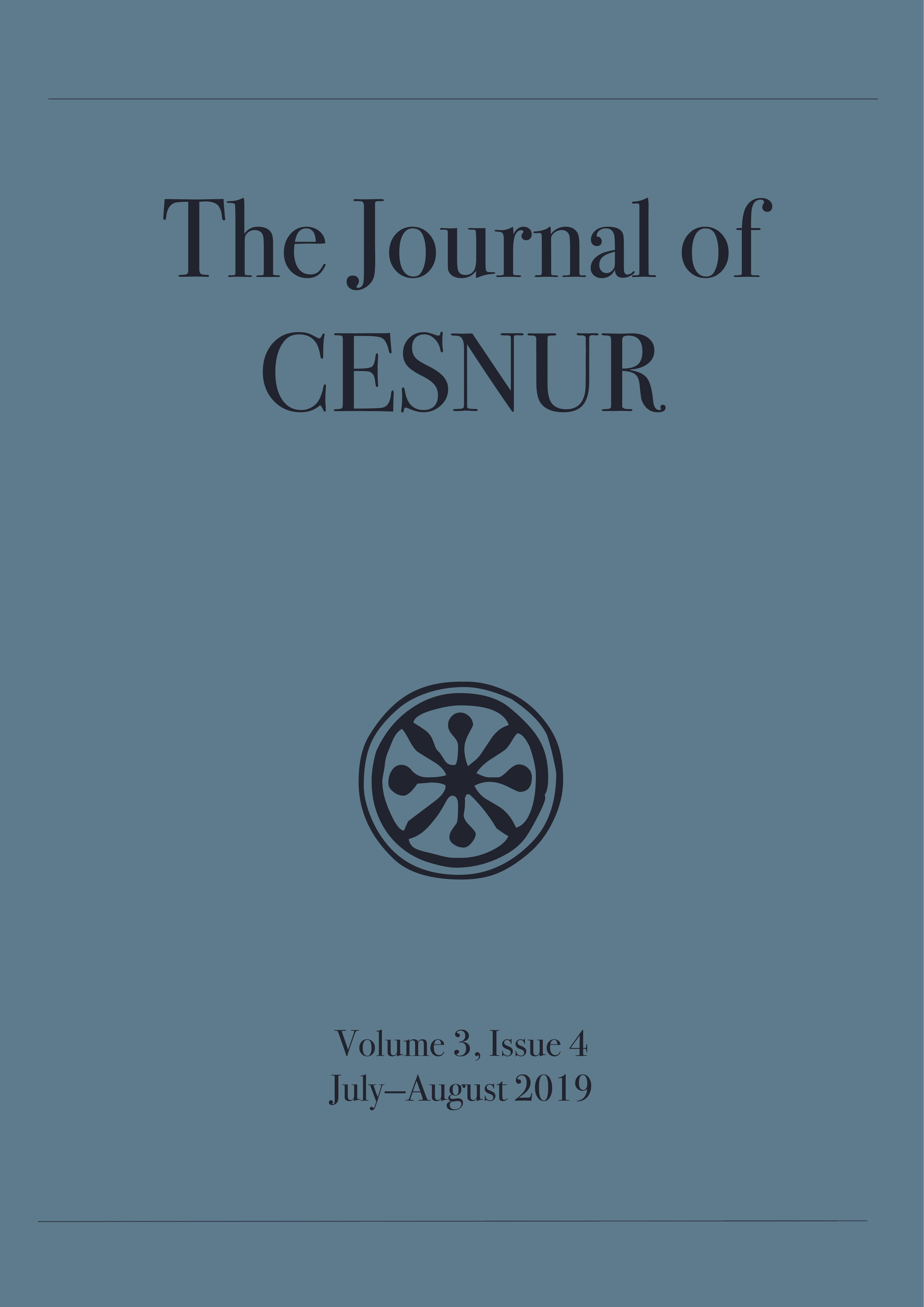 The Journal of Cesnur Volume 3 Issue 4 cover