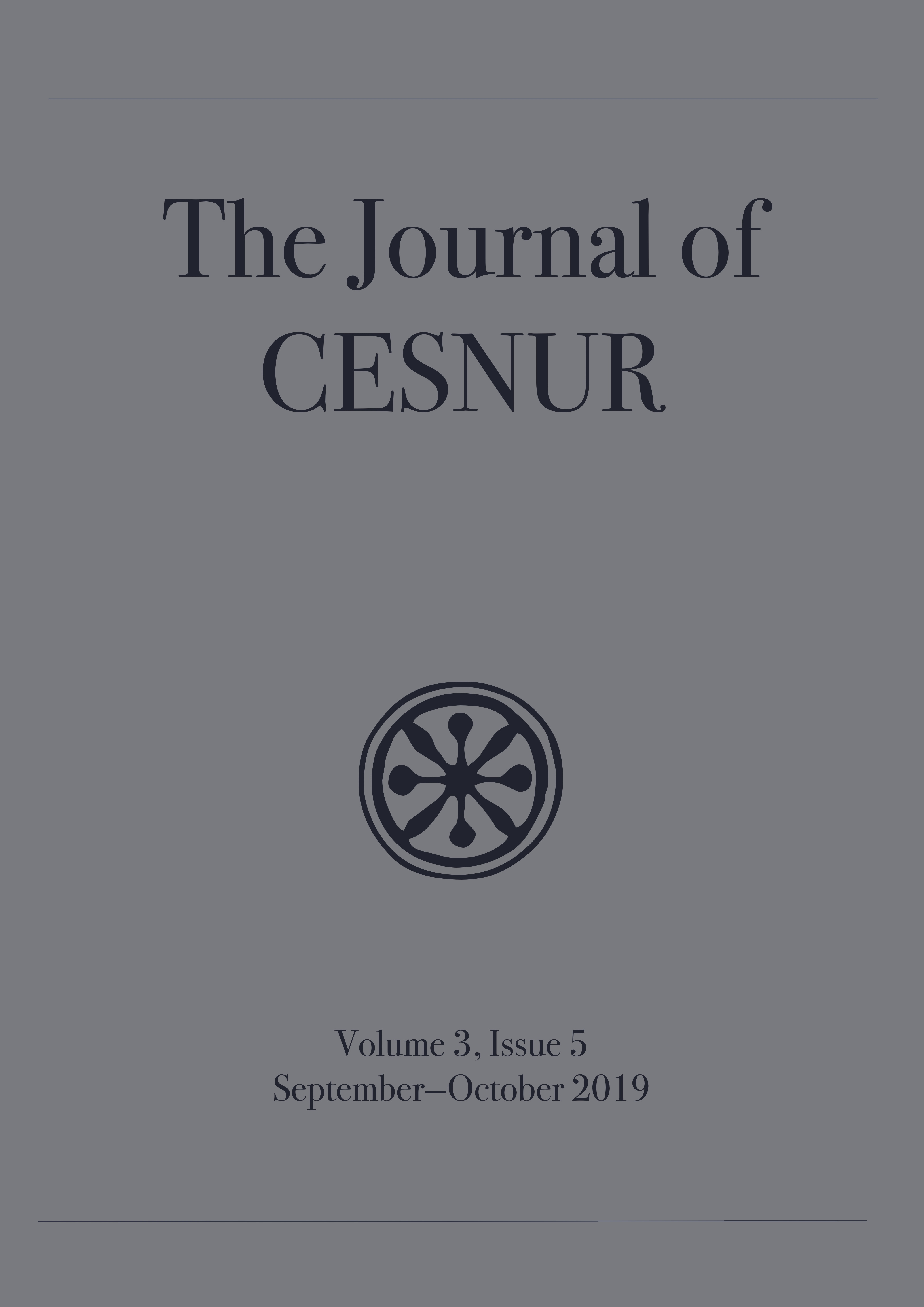 The Journal of Cesnur Volume 3 Issue 5 cover