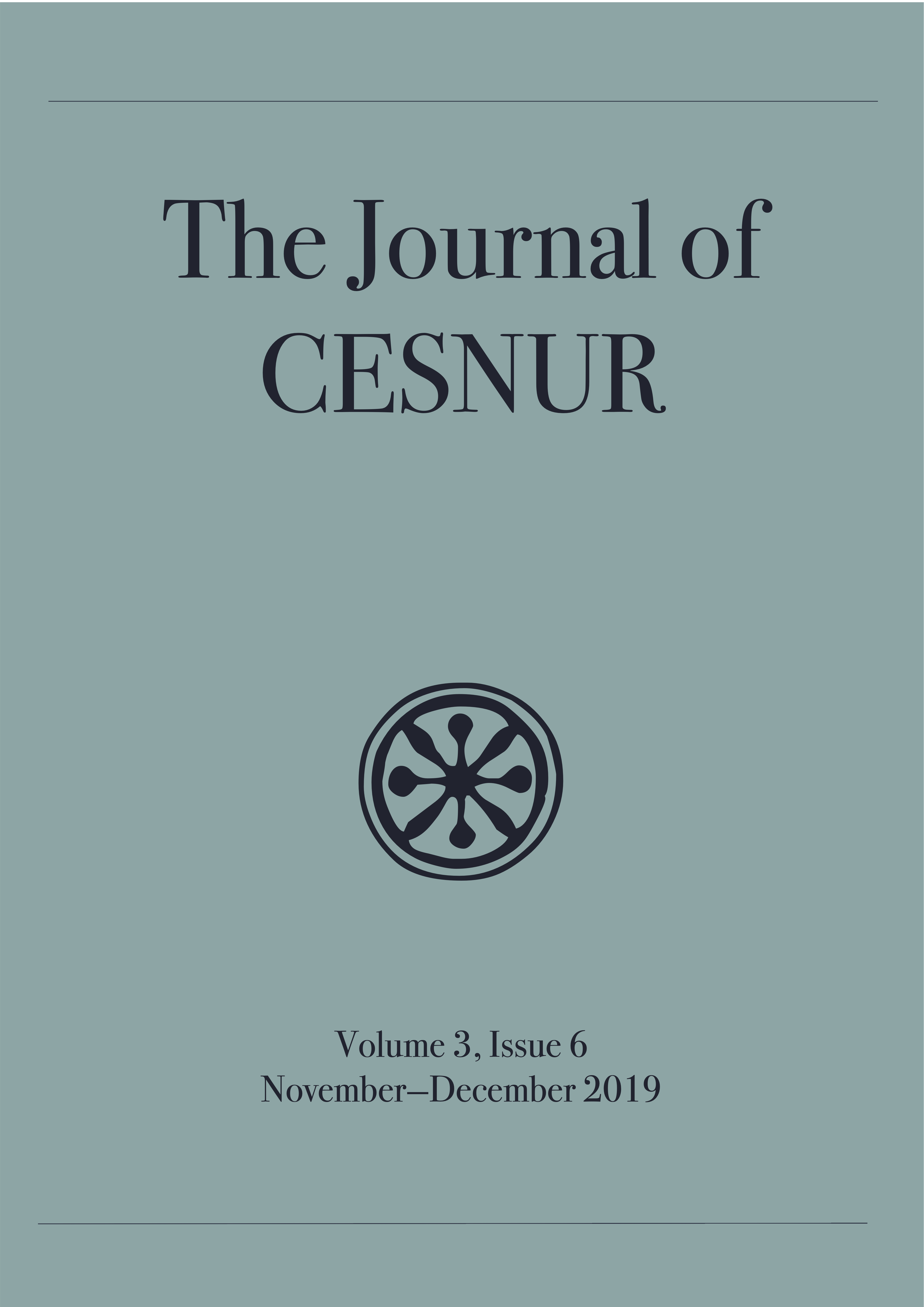 The Journal of Cesnur Volume 3 Issue 6 cover