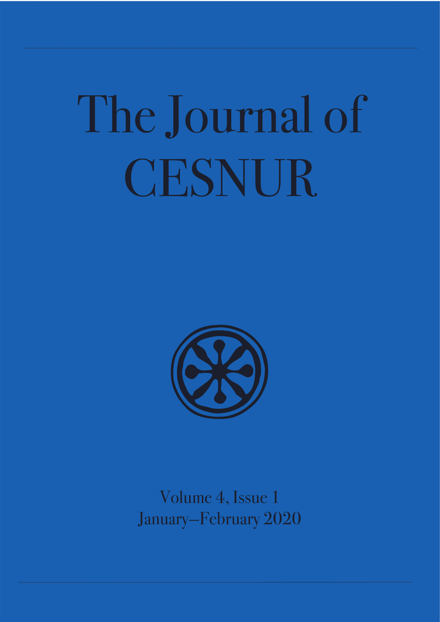 The Journal of Cesnur Volume 4 Issue 1 cover