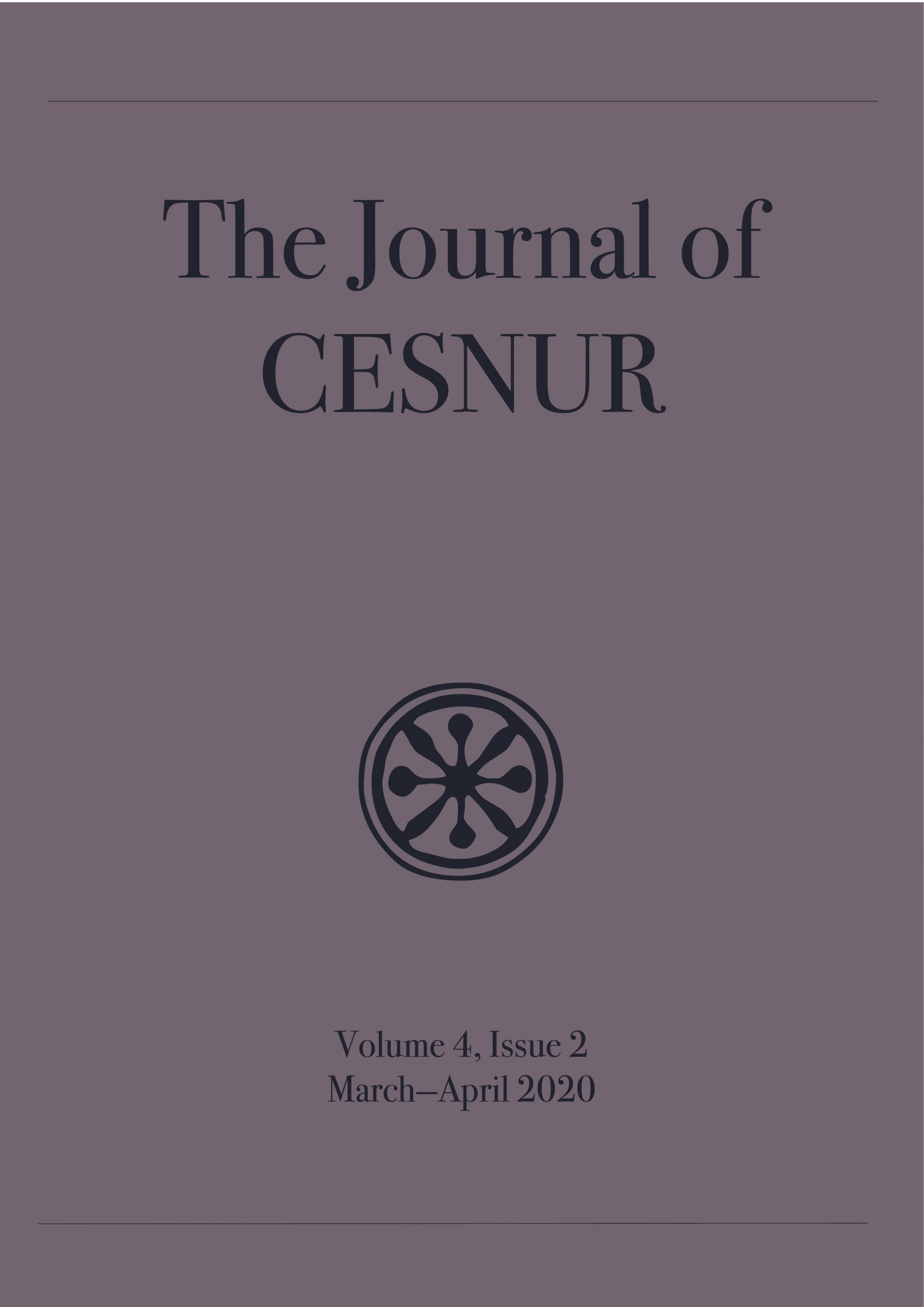 The Journal of Cesnur Volume 4 Issue 2 cover