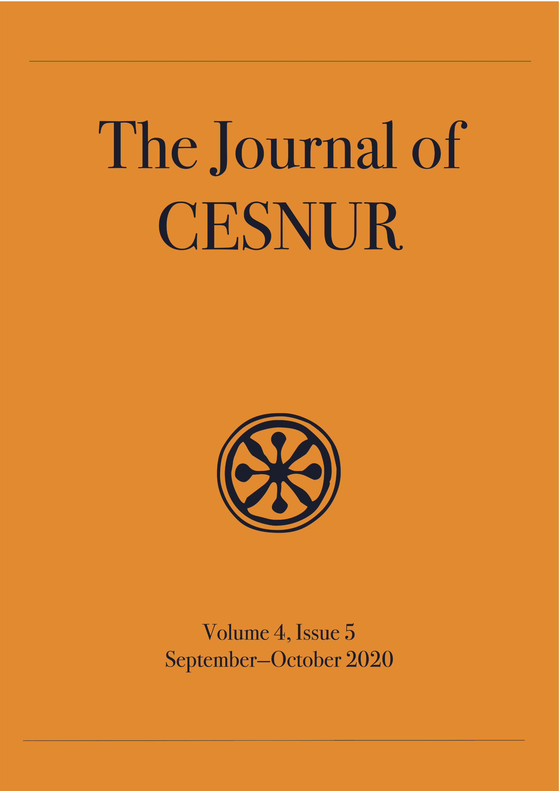 The Journal of Cesnur Volume 4 Issue 5 cover