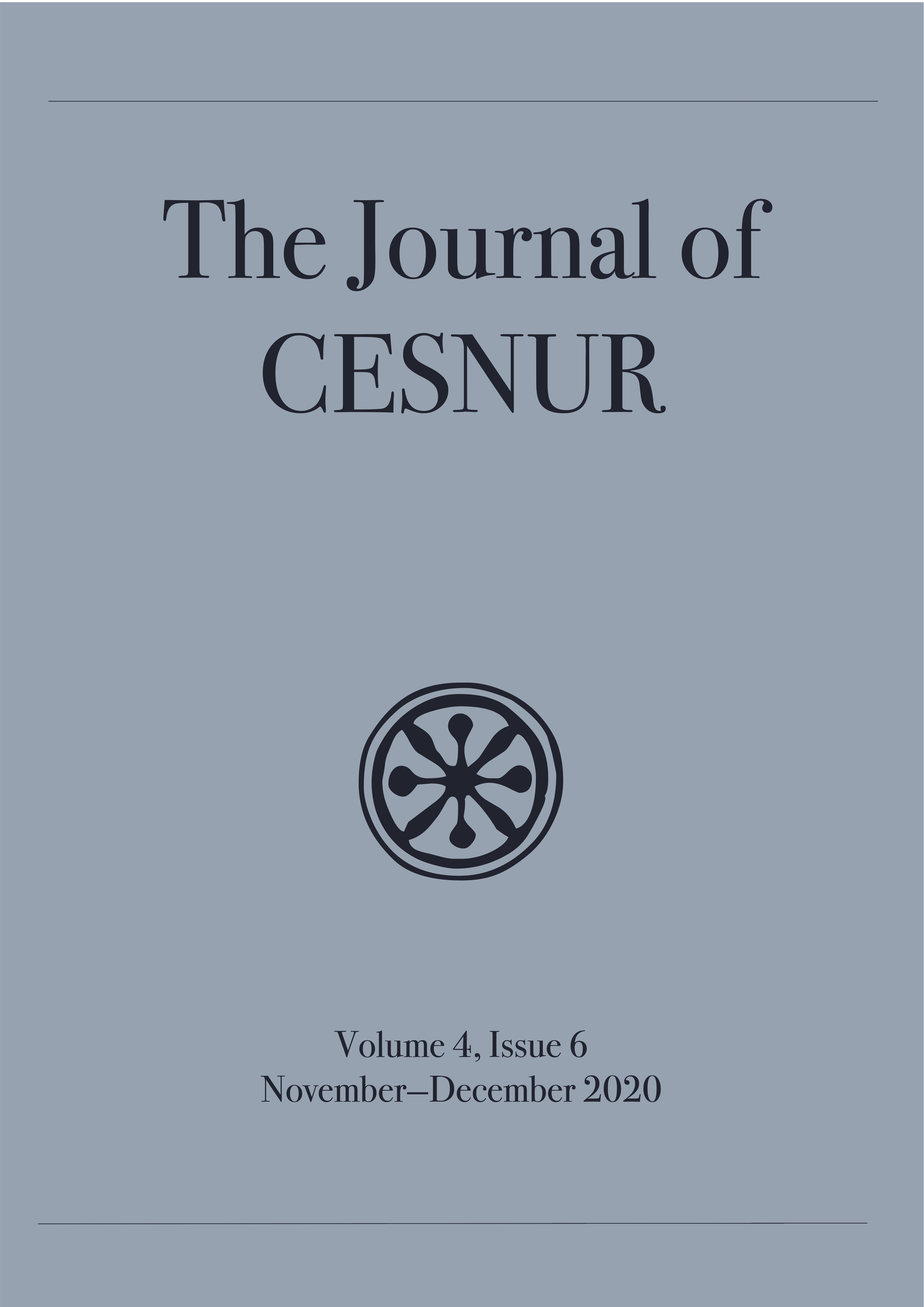 The Journal of Cesnur Volume 4 Issue 6 cover