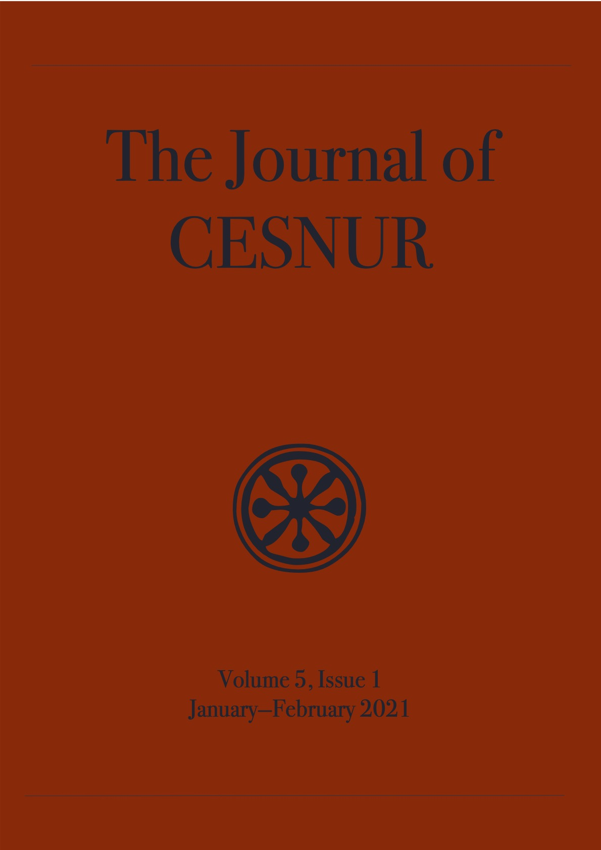 The Journal of Cesnur Volume 5 Issue 1 cover