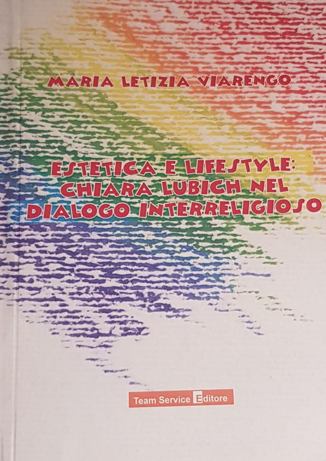 copertina libro Estetica e lifestyle: Chiara Lubich nel dialogo interreligioso