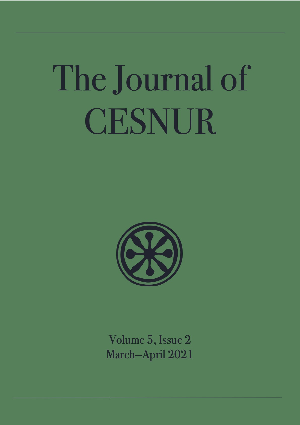 The Journal of Cesnur Volume 5 Issue 2 cover