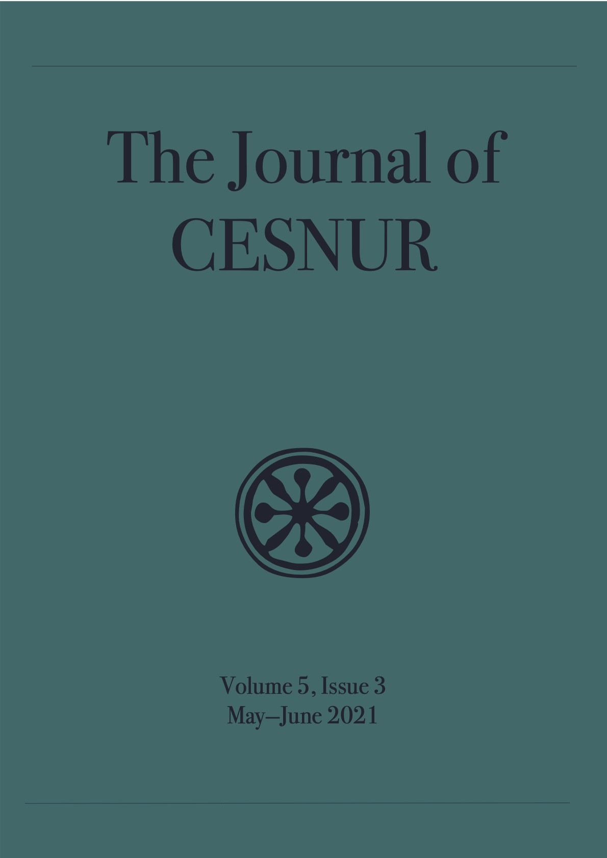 The Journal of Cesnur Volume 5 Issue 3 cover