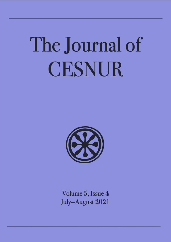 The Journal of Cesnur Volume 5 Issue 4 cover