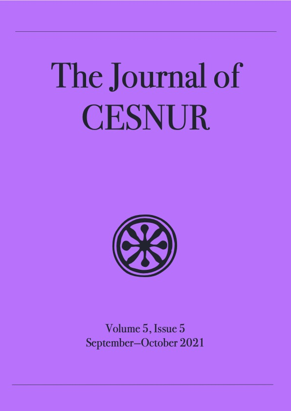 The Journal of Cesnur Volume 5 Issue 5 cover